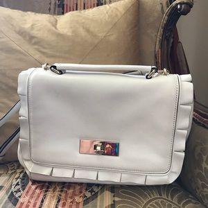 Kate Spade Ruffle Shoulder Handbag